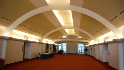 Monona Terrace, interior