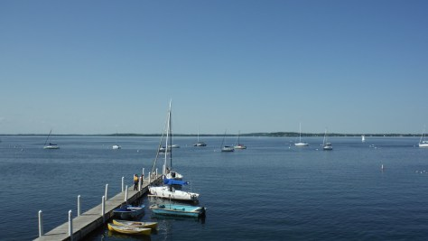 Lake Mendota, from the docks at UW Madison