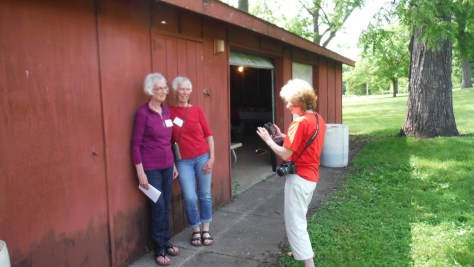 Moette, Mary, and Cathy.