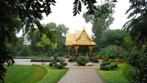 The Thai Pavilion at Olbrich Botanical Gardens, Madison, WI