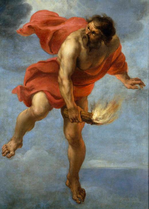 Prometeo encadenado maestroviejo for Mito vaso di pandora