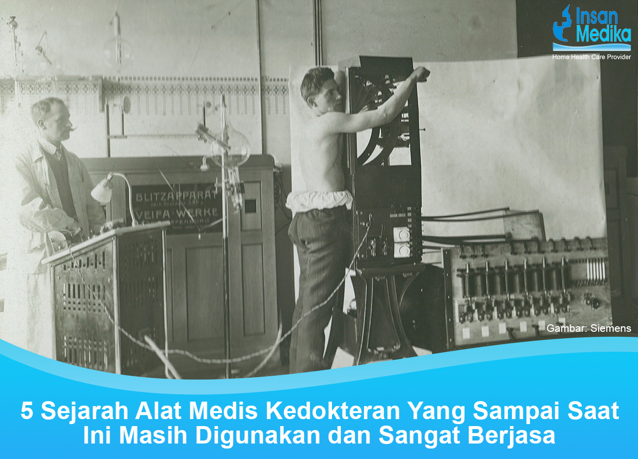 5 Sejarah Alat Medis Kedokteran Yang Sampai Saat Ini Masih Digunakan dan Sangat Berjasa