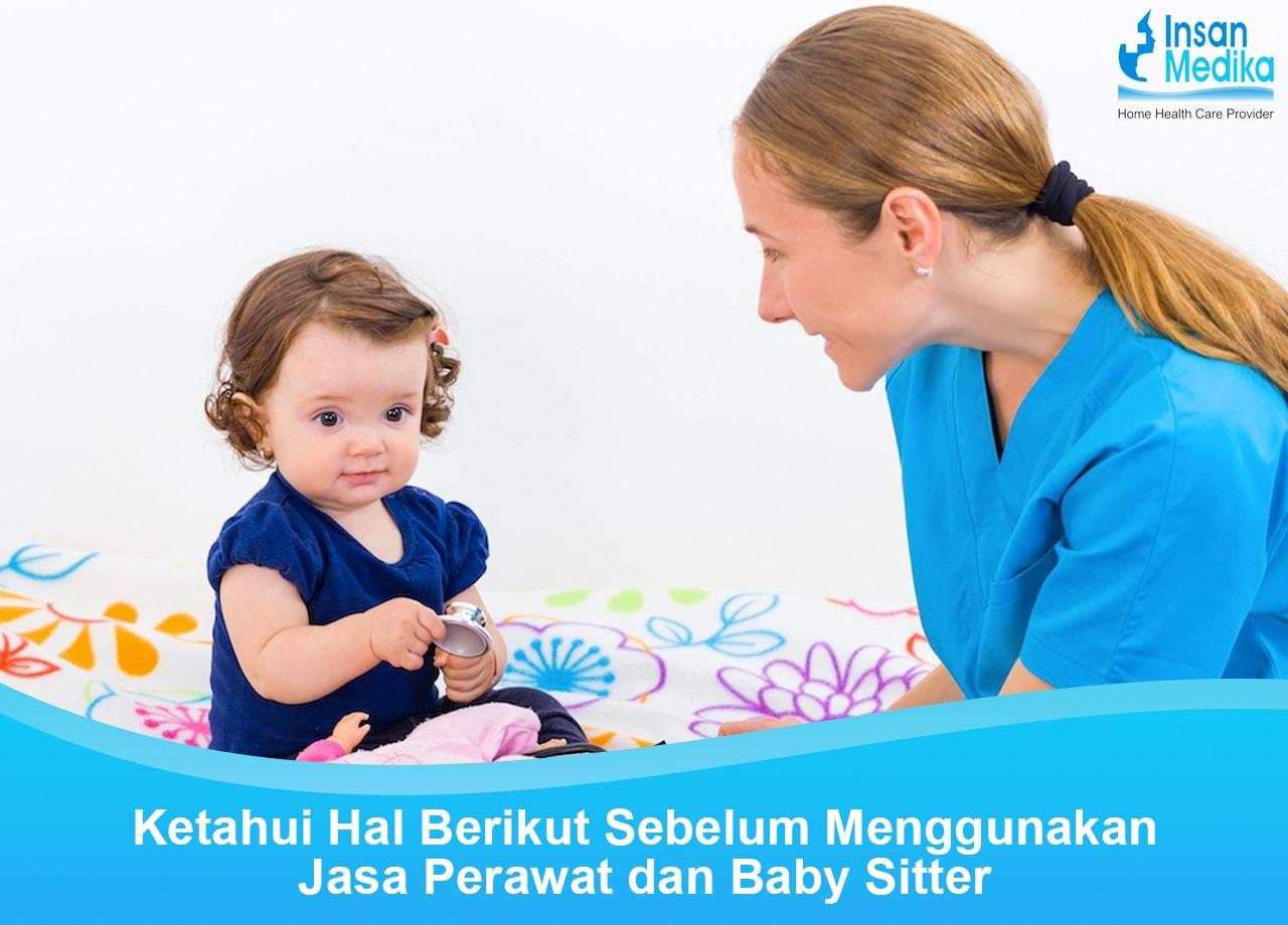 Perbedaan perawat dengan baby sitter