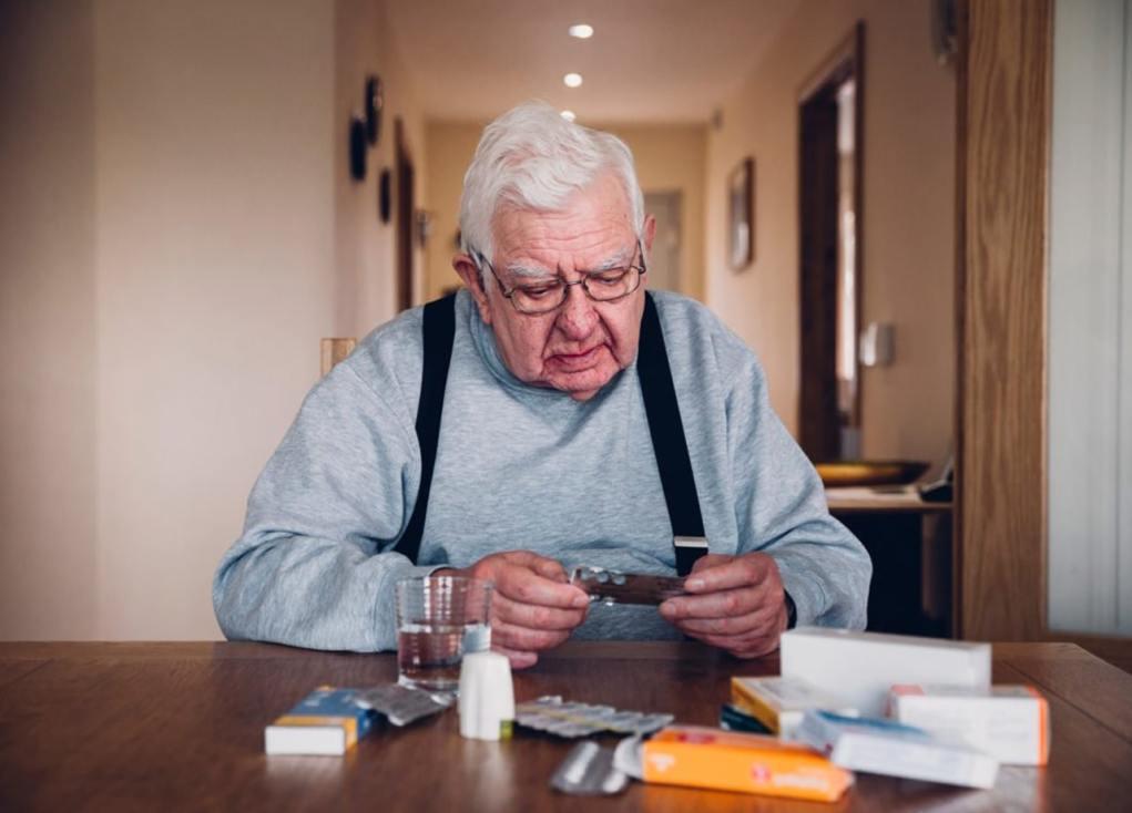 Berbagai jenis penyakit akibat sindrom geriatri