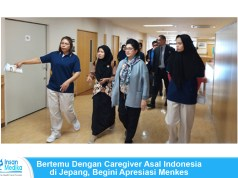 Menkes Bertemu Caregiver Asal Indonesia di Jepang
