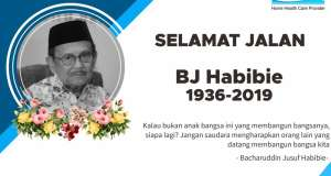 Riwayat Penyakit yang diderita oleh BJ Habibie