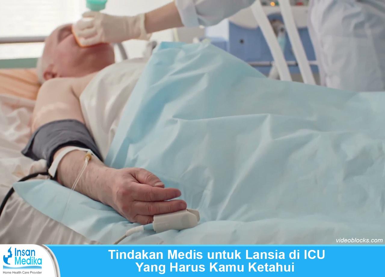 Tindakan medis pada lansia di ICU