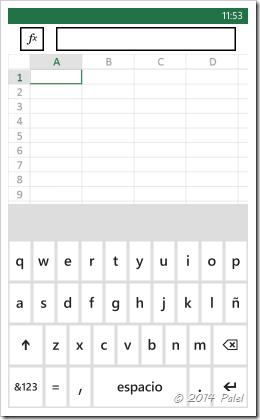 Excel Mobile: Copiar y Pegar celdas - Imagen 1