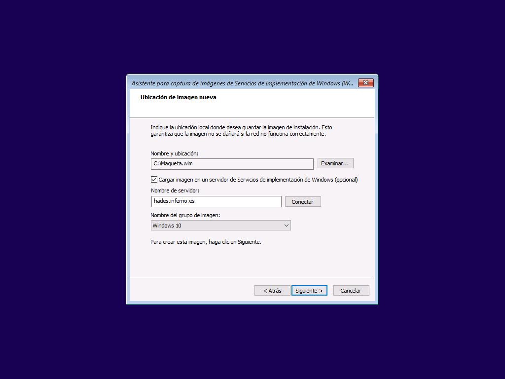 Servicios de implementación de Windows: Imágenes de captura. | Ready ...