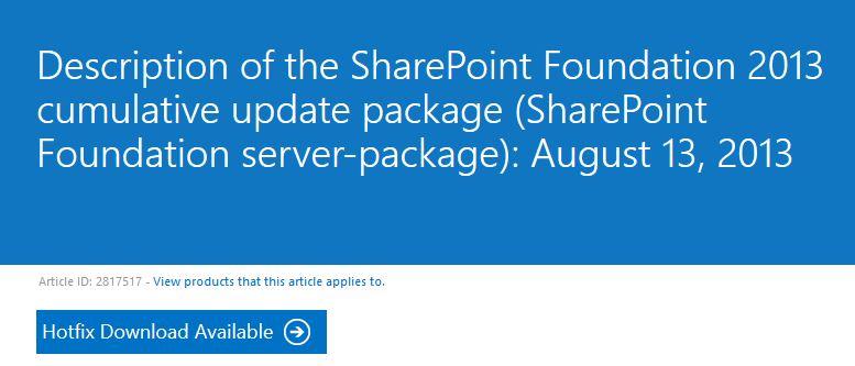 Sharepoin2013CUagosto20140001