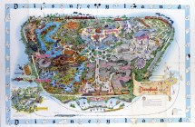 Disneyland' Evolution Maps Design & Architecture