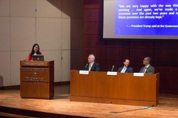 Panelists at at APALSA international law panel