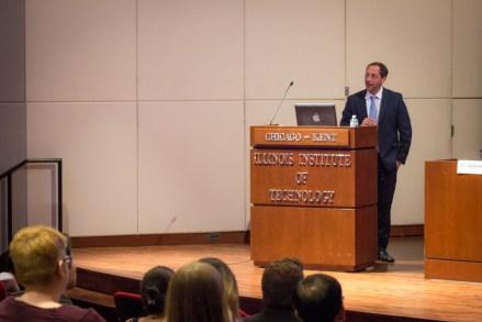Dean Edward Harris at APALSA international law panel