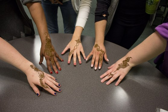 Henna Tattoos sponsored by MLSA
