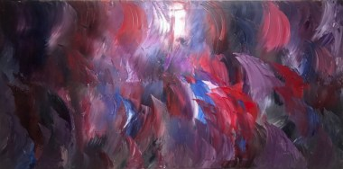 Cristina McNeiley's abstract oil painting