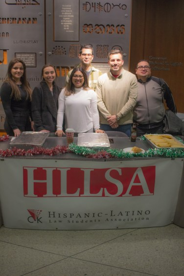 Holiday Fest 2018 with our Hispanic Latino Law Students Association