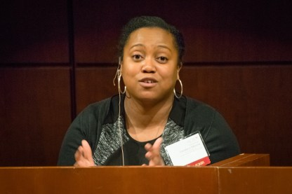 Candace Moore, Senior Staff Attorney at the Chicago Lawyers' Committee for Civil Rights