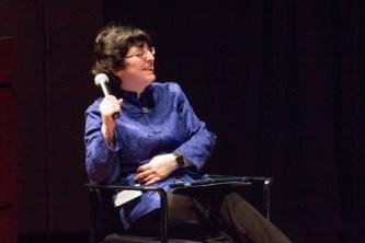 Debbie Ginsberg, panel moderator