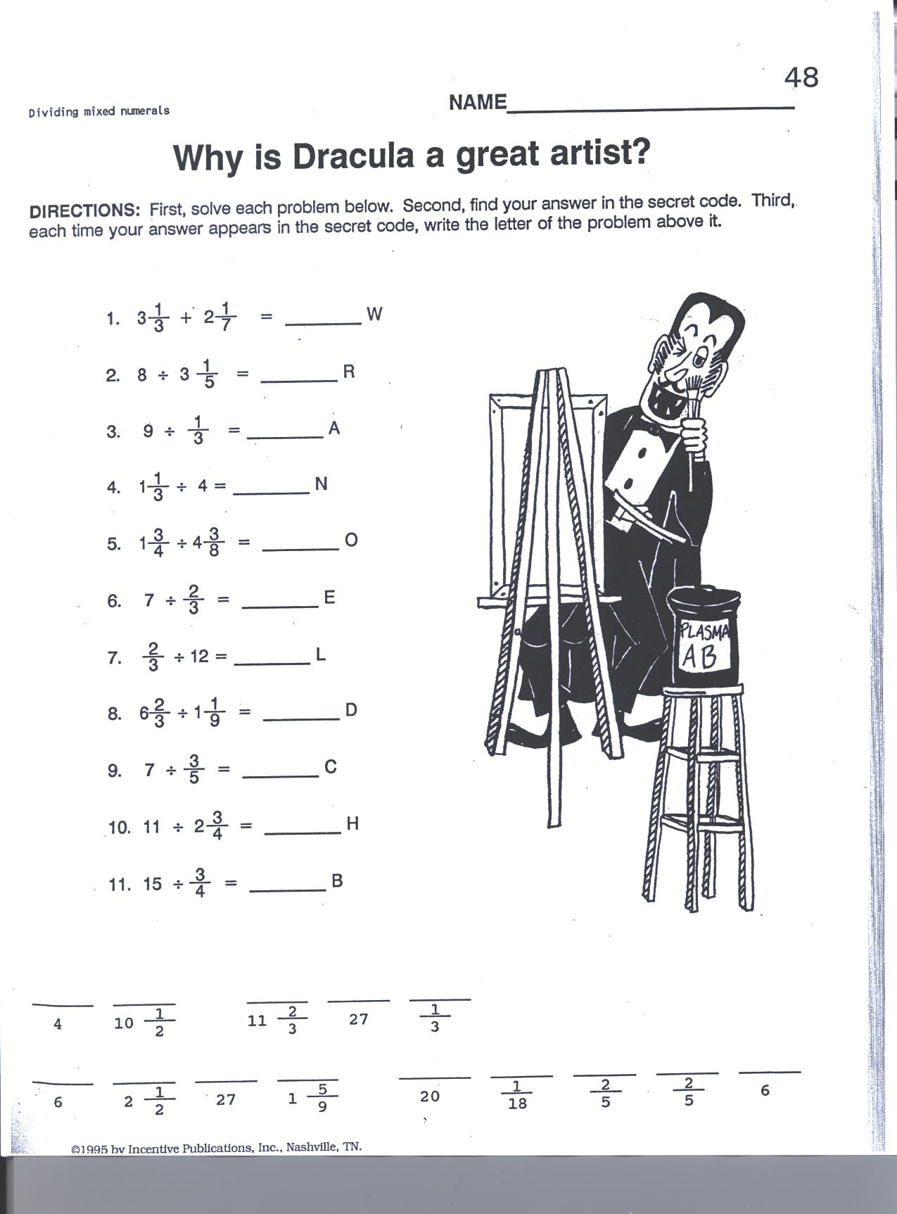 Ratios With Fractions Worksheet