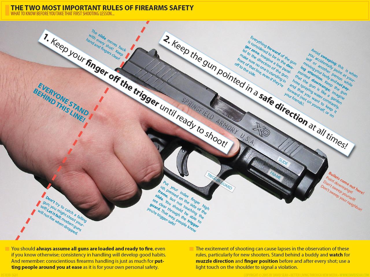 Reglas Bsicas De Seguridad Para El Uso De Armas De Fuego