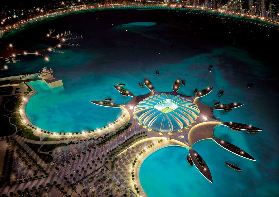 El estadio Doha Port, con una capacidad para 44.950 personas. EFE / Blogs LaNacion.com