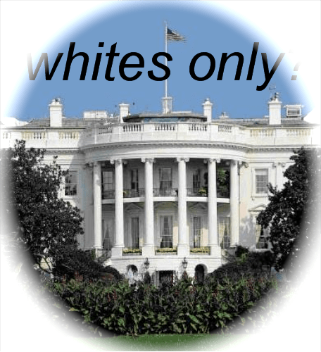 Image result for whites only house