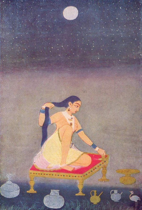 radha under the moon