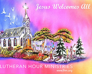 A drawing of the Lutheran Hour Ministries float that will be featured in the 2014 Tournament of Roses Parade. (Lutheran Hour Ministries)
