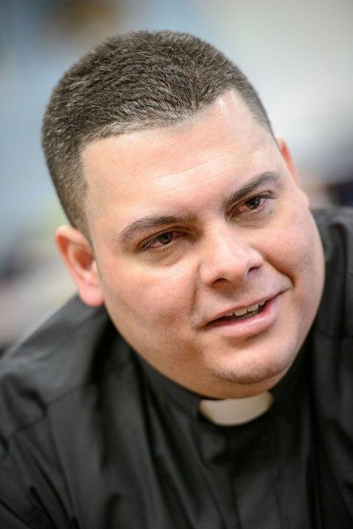 Missionary-at-Large and Vicar David Blas