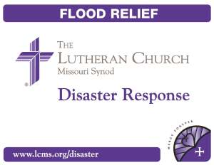 2012 Disaster Response bucket label