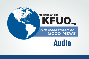 "The Rev. Larry L. Beane II joins KFUO moderator Kip Allen at 2:30 p.m. Central time, Oct. 19, on Worldwide KFUO radio to discuss the obligation of Lutherans in the ""left-hand kingdom"" regarding the upcoming presidential election."