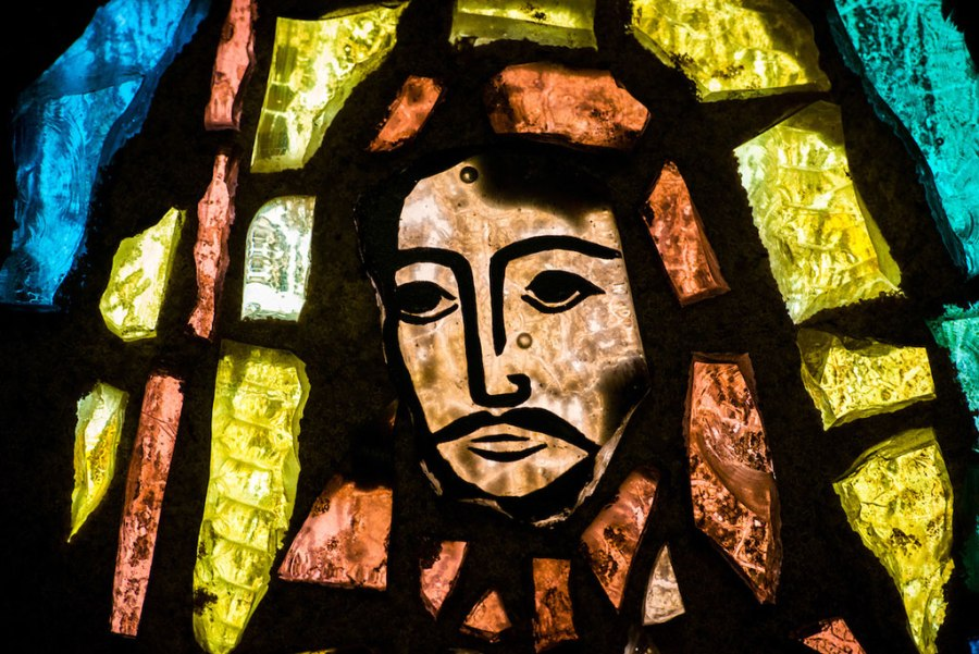 stained-glass-depiction-Jesus