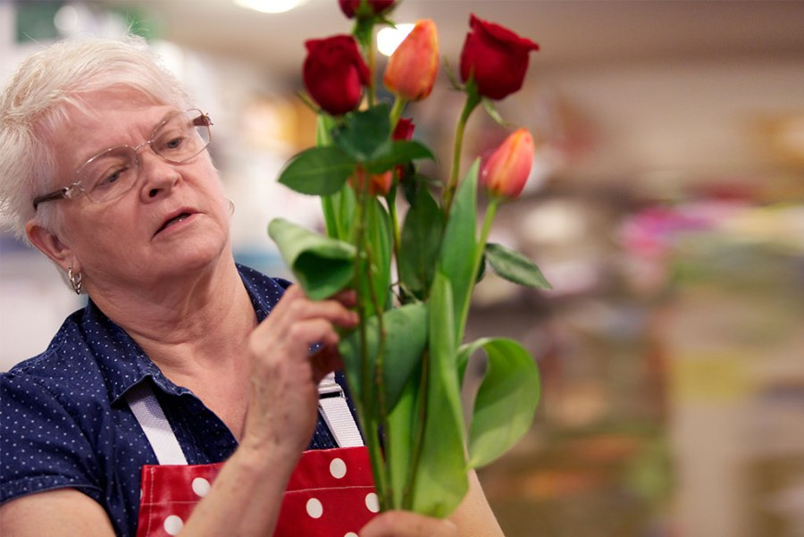 Barronelle Stutzman of Arlene's Flowers