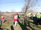 A Lutheran Early Response Team from the LCMS Central Illinois District helps with cleanup efforts March 4 in Washburn, Ill. (John Steinwedel)