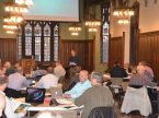 Dr. Reed Lessing, senior pastor at St. Michael Lutheran Church in Fort Wayne, Ind., leads the Pre-Lenten Workshop at Concordia Seminary, St. Louis in 2016. Photo: Courtesy Concordia Seminary