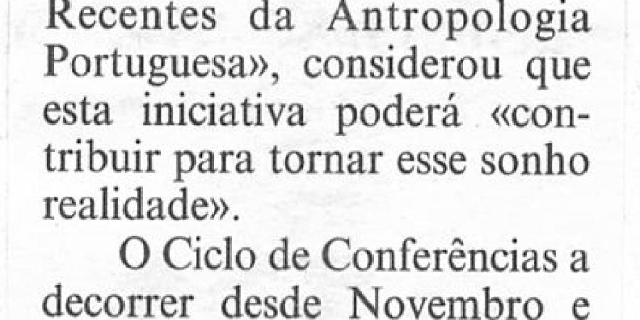 """(417) """"Licenciatura em Antropologia na 'Invicta'"""" - 1995 02 02 CPorto ...-80r"""
