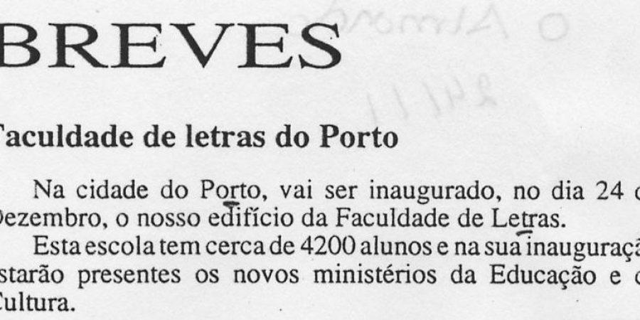 """(382) """"Faculdade de Letras do Porto"""" - 1995 11 24 OAlmonda ...-40r"""