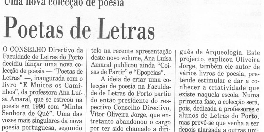 """(366) """"Poetas de Letras"""" - 1995 12 26 Publico ...-100r"""