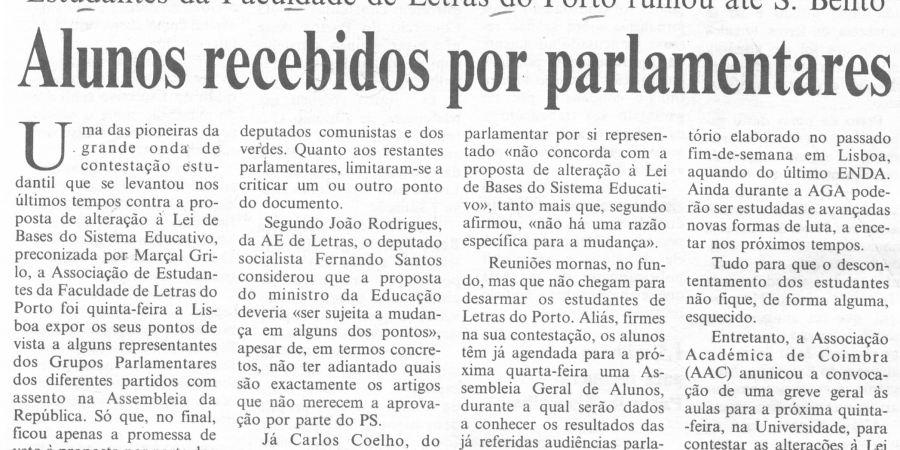 "(279) ""Alunos recebidos por parlamentares"" - 1996 11 09 CPorto ...-180r"