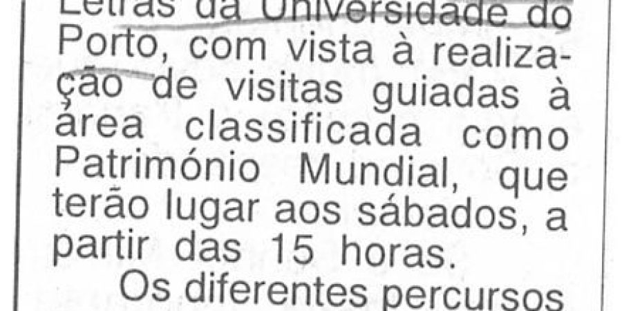 """(269) """"Reaberto posto de Turismo na cidade do Porto"""" - 1997 05 01 AOrdem ...-80r"""