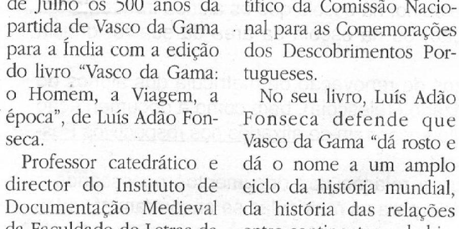 """(261) """"Expo98 assinala 500 anos da partida para a Índia"""" - 1997 07 01 JMadeira ...-90r"""