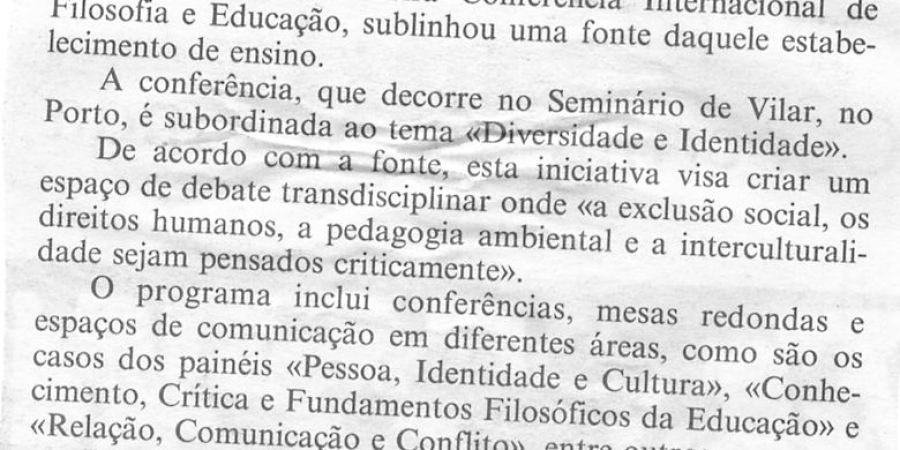 """(219) """"Filosofia e educação em debate no Porto"""" - 1998 04 22 CPorto ...-80r"""