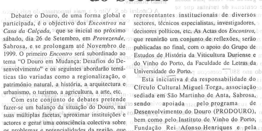 """(202) """"O Douro em debate no virar do Século"""" - 1998 09 24 VozTrasMontes ...-150r"""