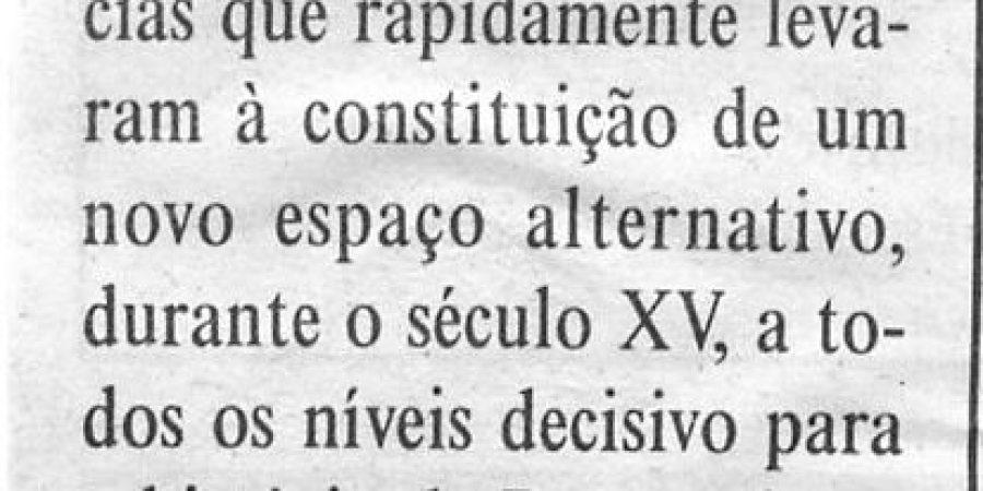 """(133) """"Aurélio de Oliveira publica estudo sobre descobrimentos"""" - 1999 10 14 DMinho ...-150r"""