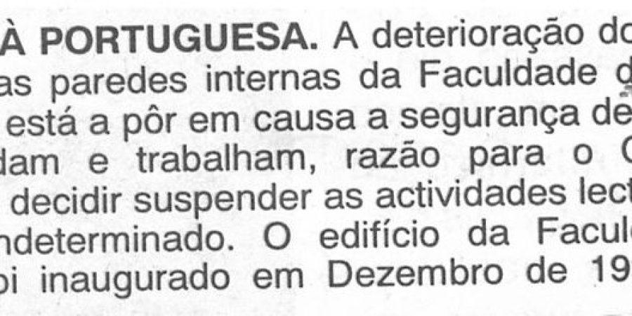 """(124) """"Obras à Portuguesa"""" - 1999 12 16 A Ordem ...-20r"""