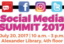 Social media summit graphic