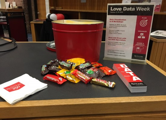 goodies from Love Your Data Week