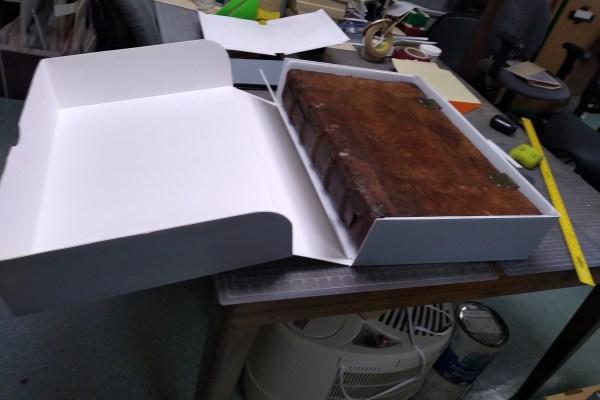 Bound manuscript