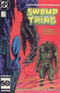 Cover image for Swamp Thing Number Fourty-five, February, 1985