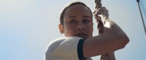 Brie Larson as young Carol Danvers